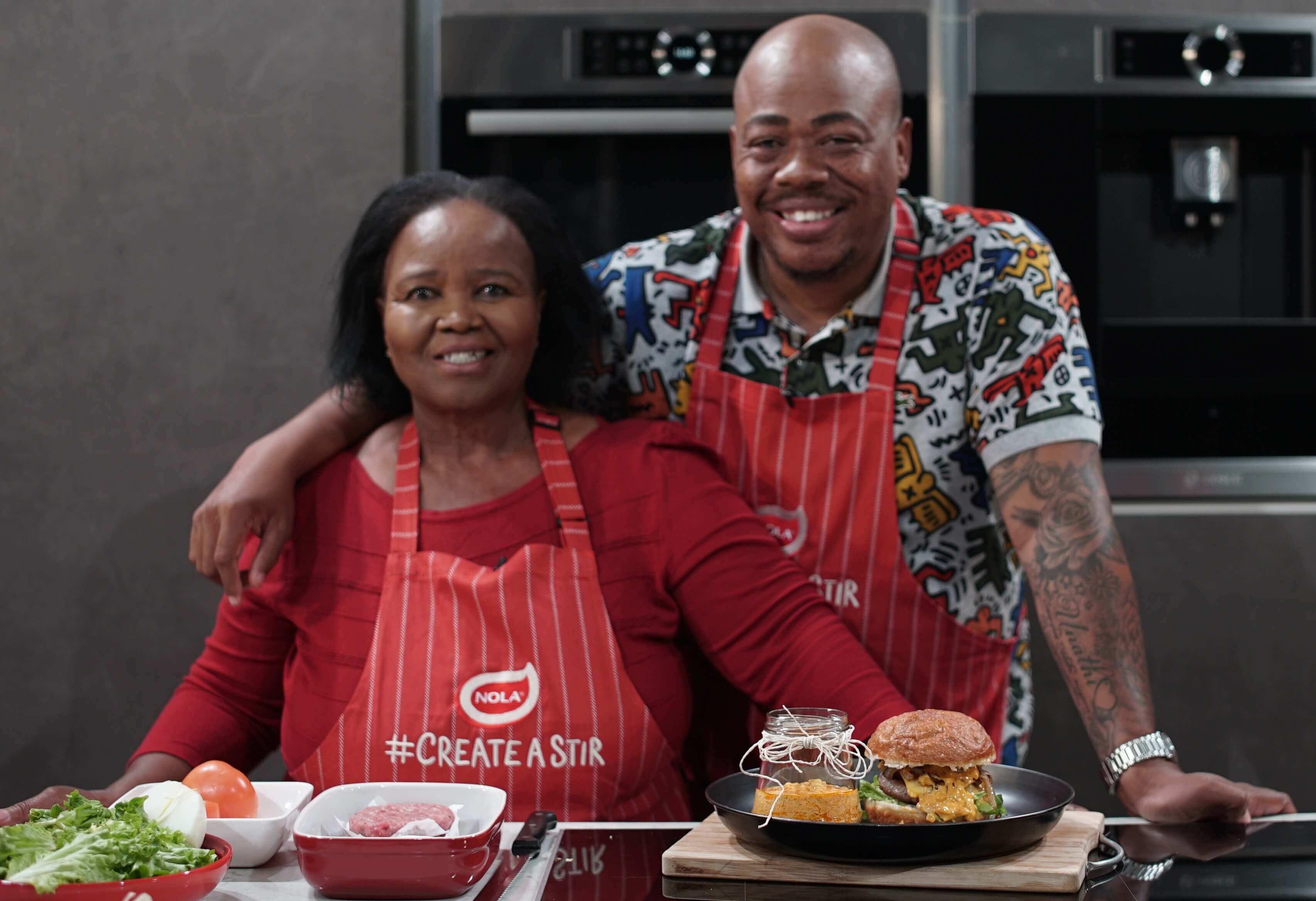 Foodie NOLA Sithembiso and Nozibele Ndashe