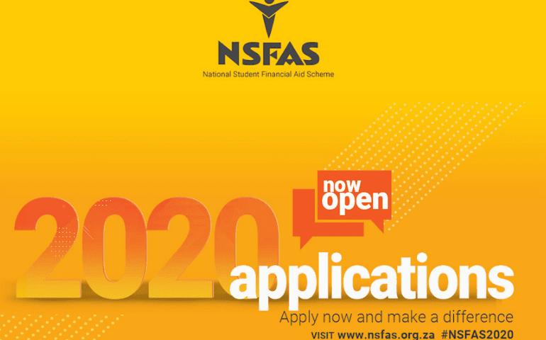NSFAS application 2020
