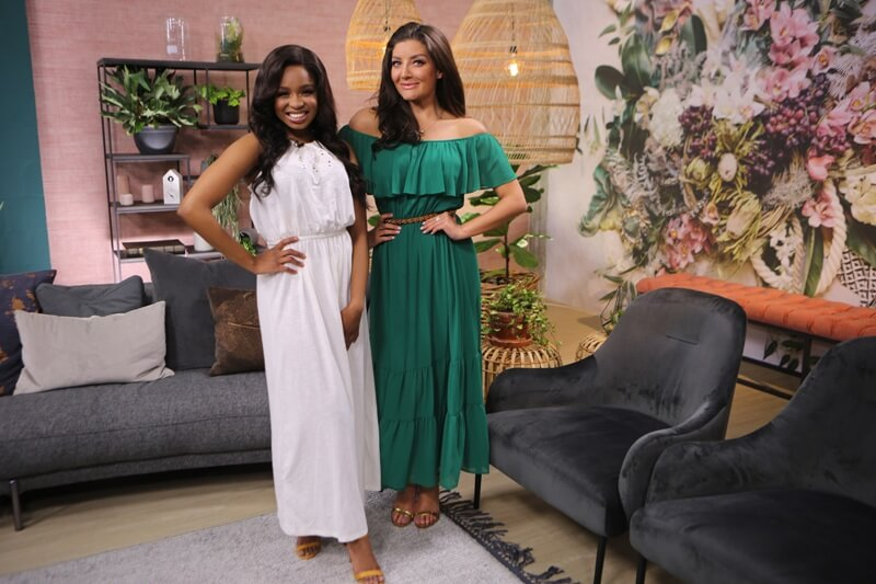 Afternoon Express Presenters Jeannie D and Palesa Tembe THE TASTE MASTER