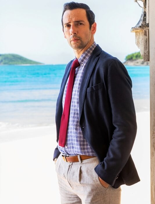 Lexus Saint John >> Death in Paradise cast Ralf Little as new lead detective