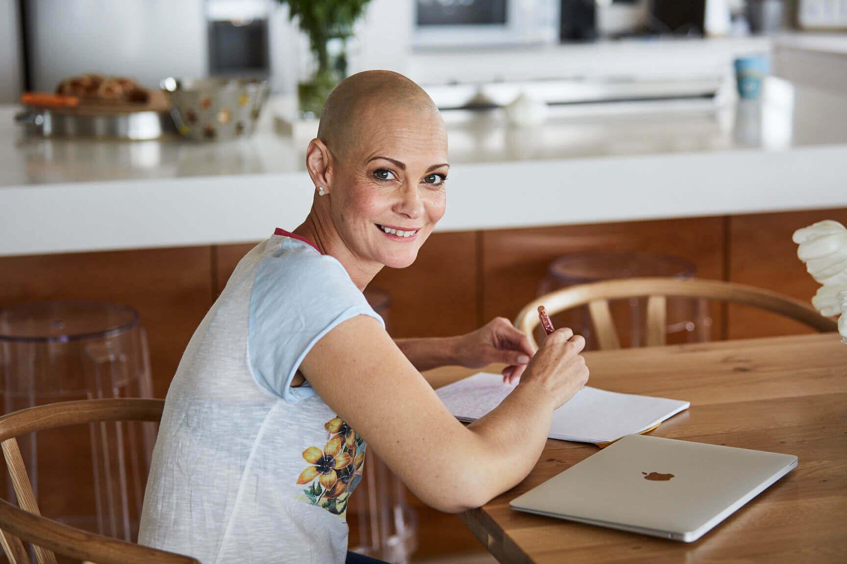 Sam Stewart cancer survivour