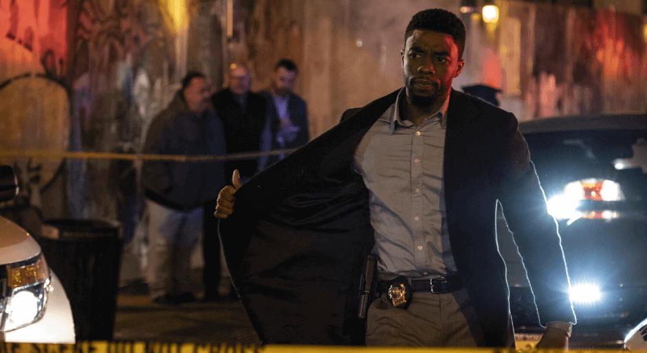 Cop Thriller 21 BRIDGES Movie Chadwick Boseman