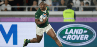South African wing Makazole Mapimpi Rugby World Cup
