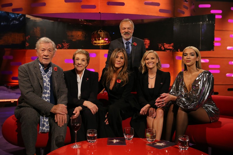 The Graham Norton Show_Sir Ian McKellen Dame Julie Andrews Jennifer Aniston Reese Witherspoon & Dua Lipa_S26_EP6