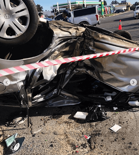 Thickleeyonce car accident
