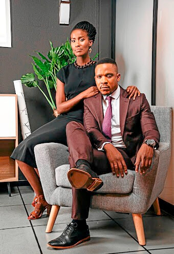 Masasa Mbangeni and Bongile Mantsai