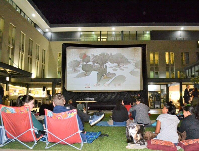 Granada Square Movie Night