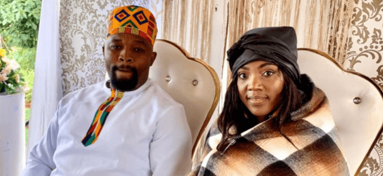 LUYANDA POTWANA AND NOMNOTHO ZONDO MARRIED