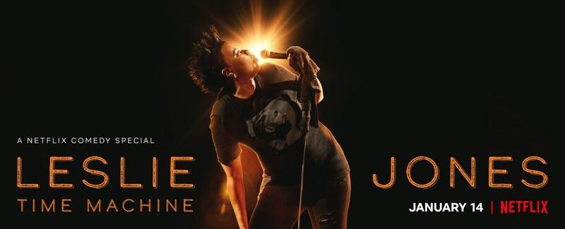 Trailer for LESLIE JONES: TIME MACHINE