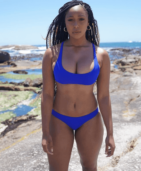 Minnie Dlamini bikini photo
