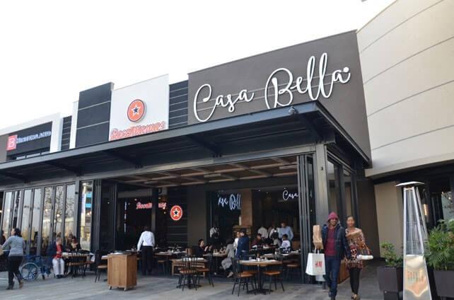 Casa Bella mall of africa