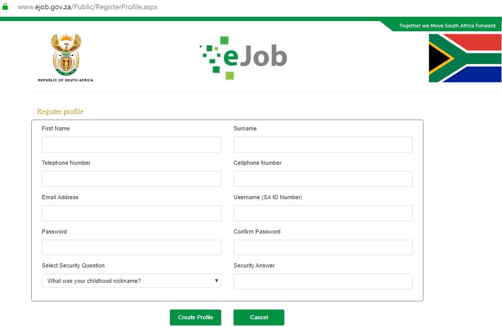 How do I apply for a DPSA job