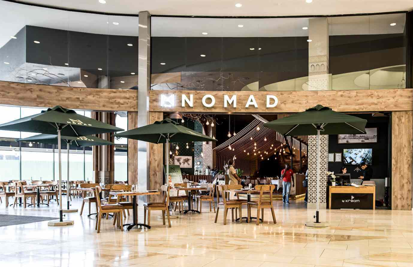 Mad Nomad Mall of Africa restaurants