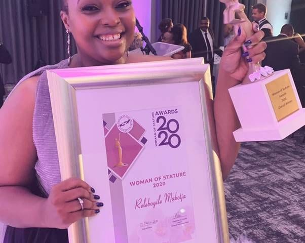 Relebogile Mabotja Woman of Stature Awards