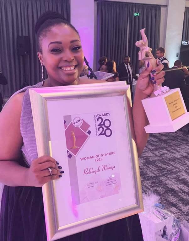 Relebogile Mabotja Woman of Stature Awards