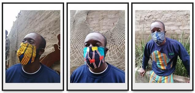 P&H boutique Ankara face masks