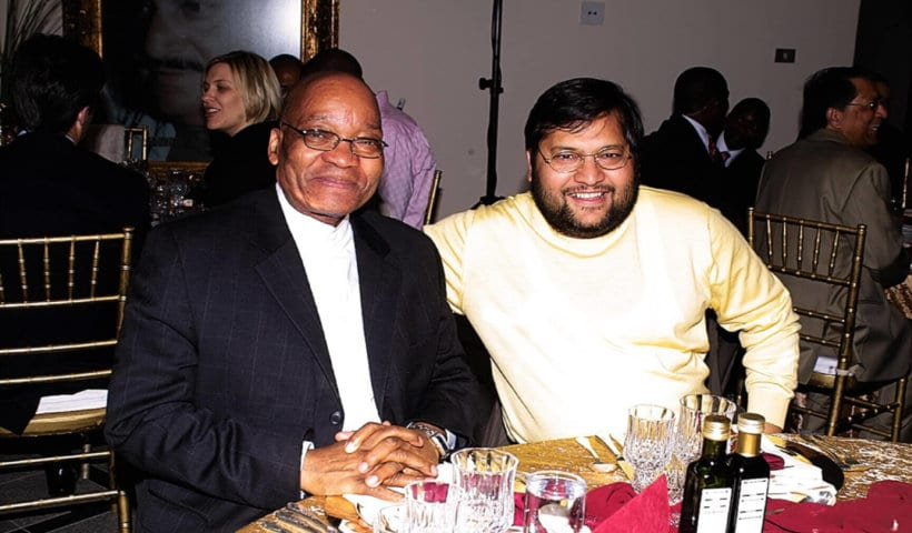 How To Steal A Country - Ajay Gupta and Jacob Zuma