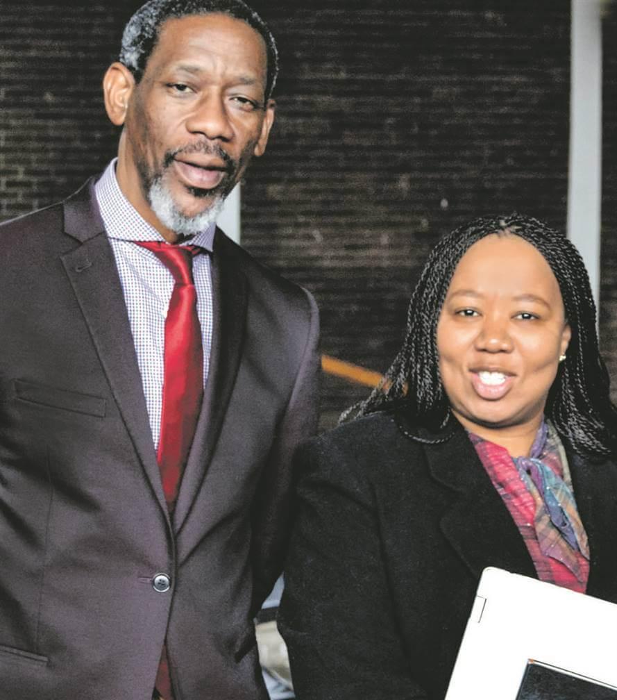 Luthuli Dlamini and Nolubabalo Mcinga NTU News