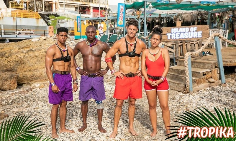 Tropika Island Of Treasure Finalists
