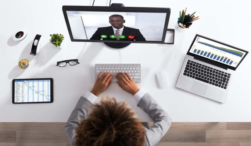 Preparing for your at-home video call conference
