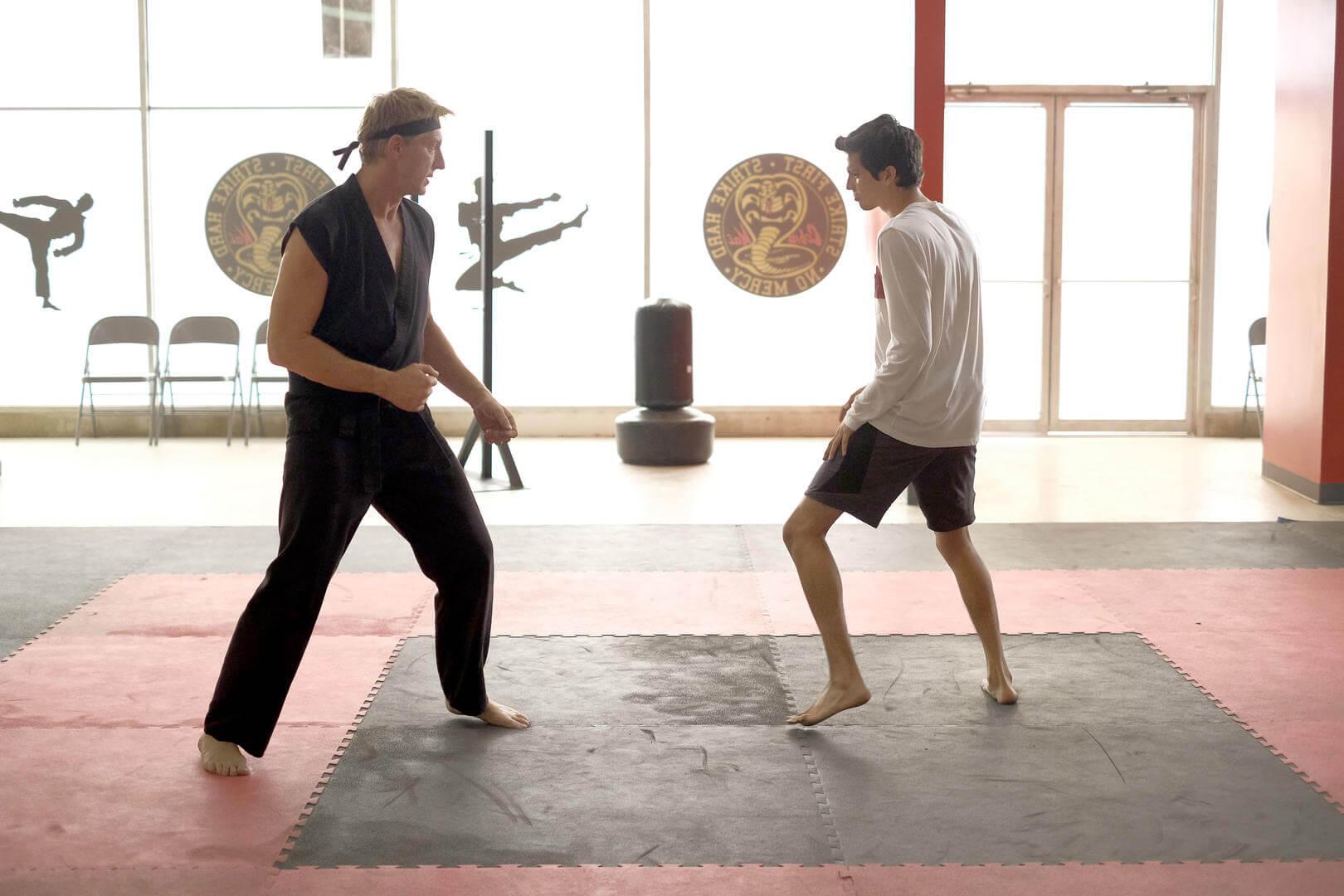 William Xolo-dojo Mark Hill The Karate Kid Saga