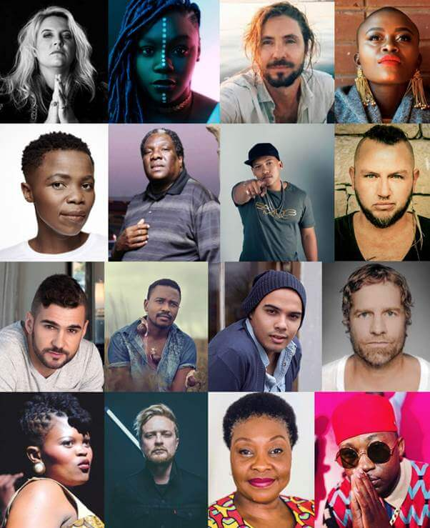 Top South African musicians