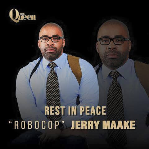 Jerry Maake is dead