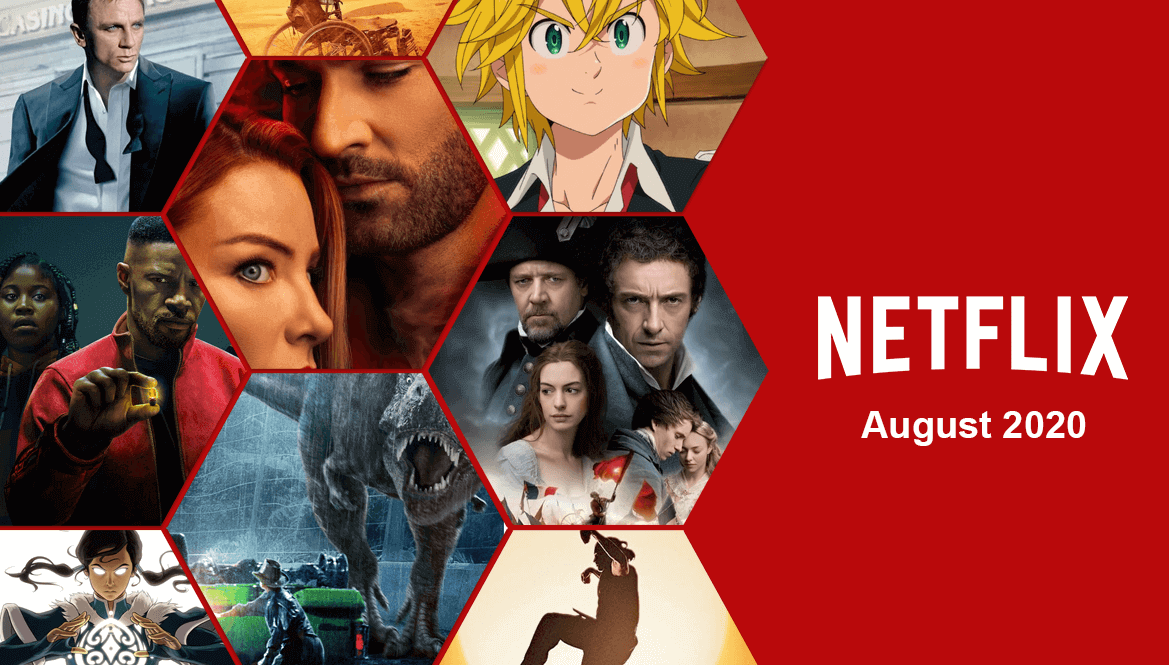 New Netflix August releases 2020