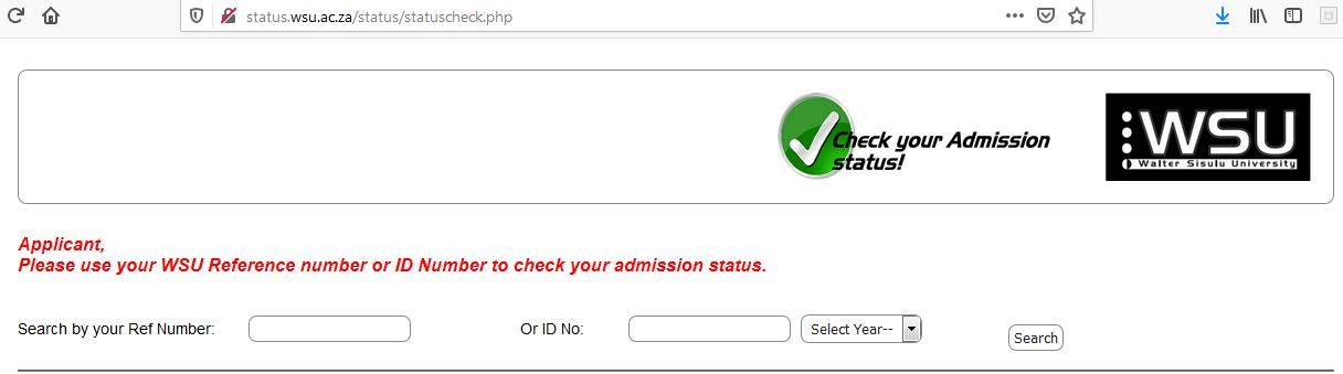 WSU Status Check
