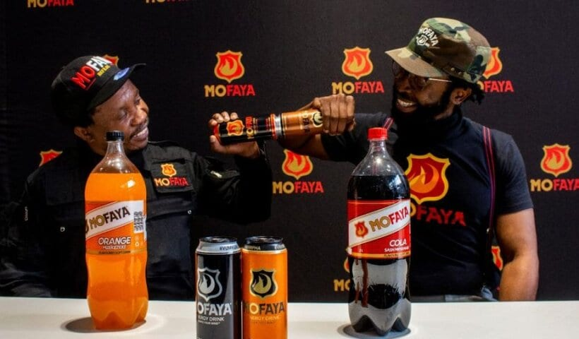 DJ Sbu launches MoFaya soft drinks range