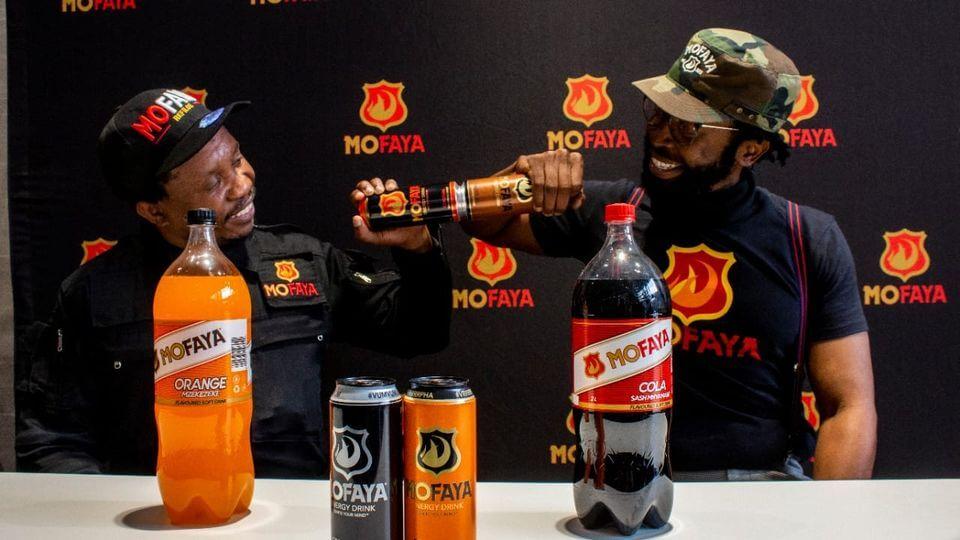 DJ Sbu launches MoFaya soft drinks range
