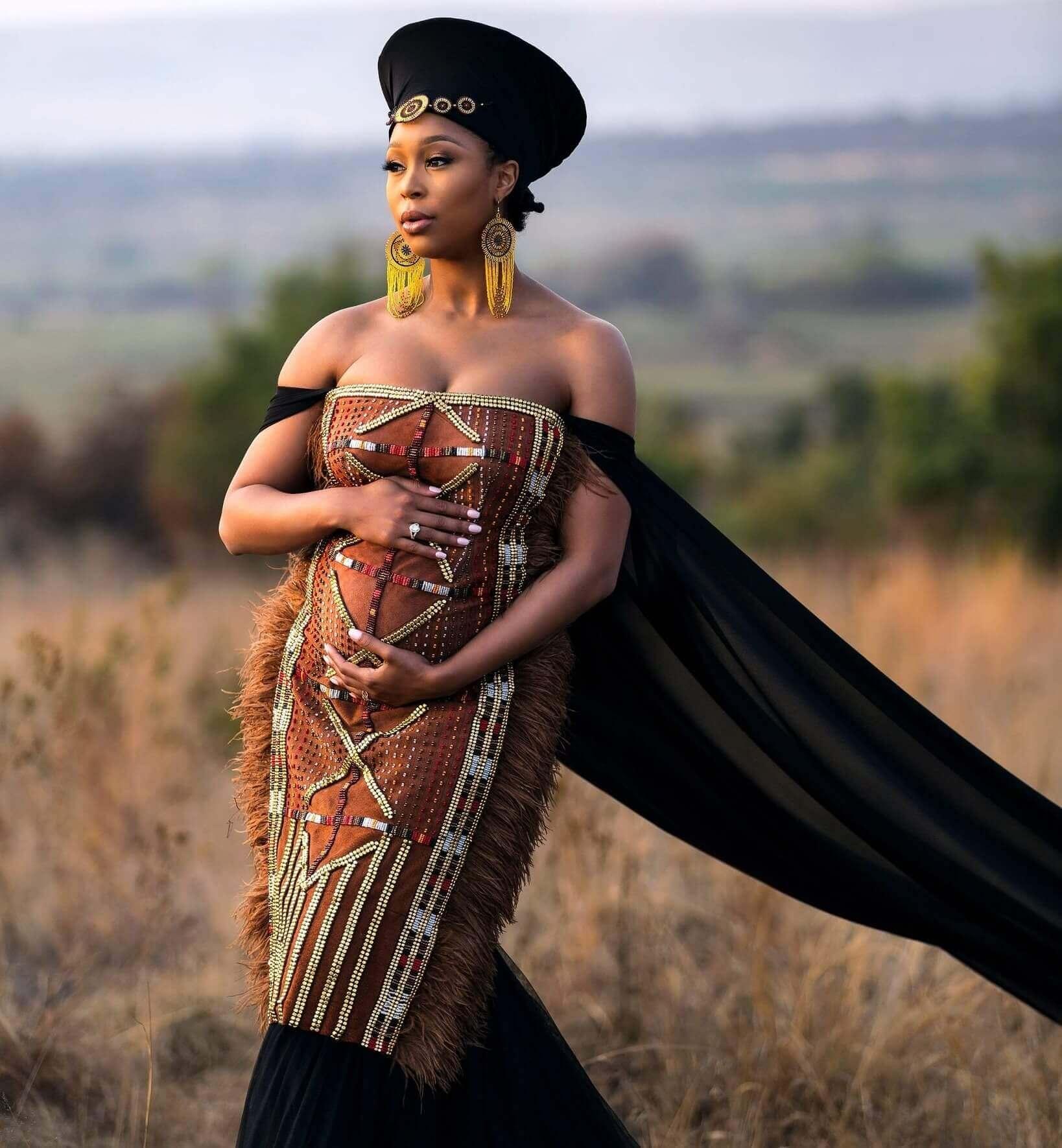 Minnie Dlamini-Jones Pregnant
