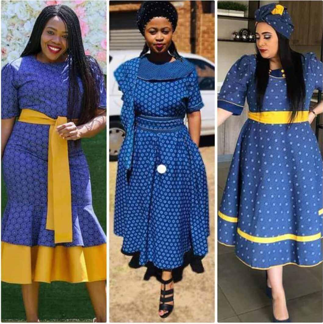 Sotho Shweshwe Dresses