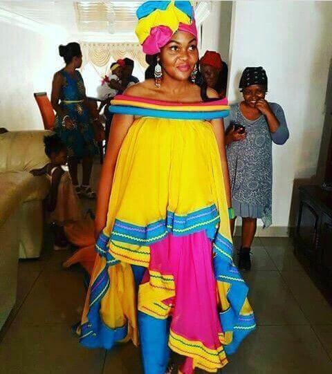 Traditional Pedi dresses