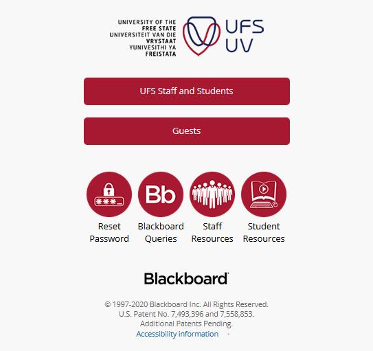 UFS Blackboard learn