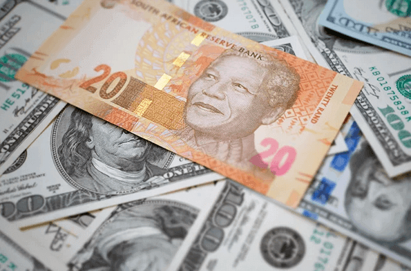 dollar to rand live exchange rate