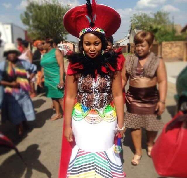 zulu traditional wedding dresses