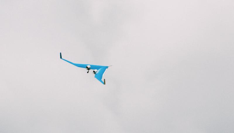 Flying-V prototype flight
