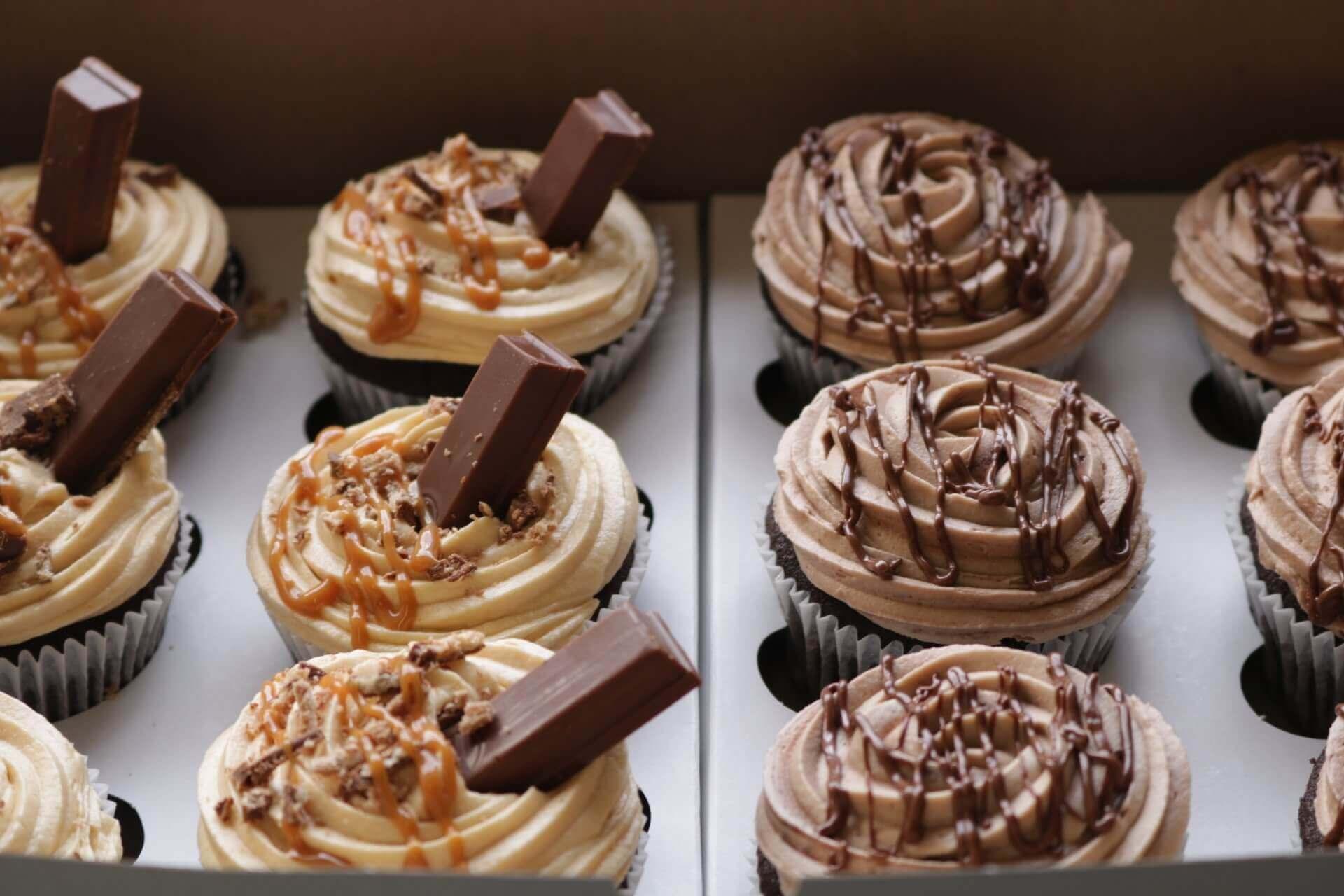 Kit-Kat Cupcakes