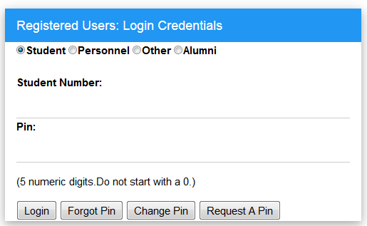 Login to My Access at Univen