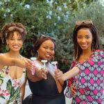Sherri Andreas, Amanda Nchukana and Tumi Matela, BIC Soleil