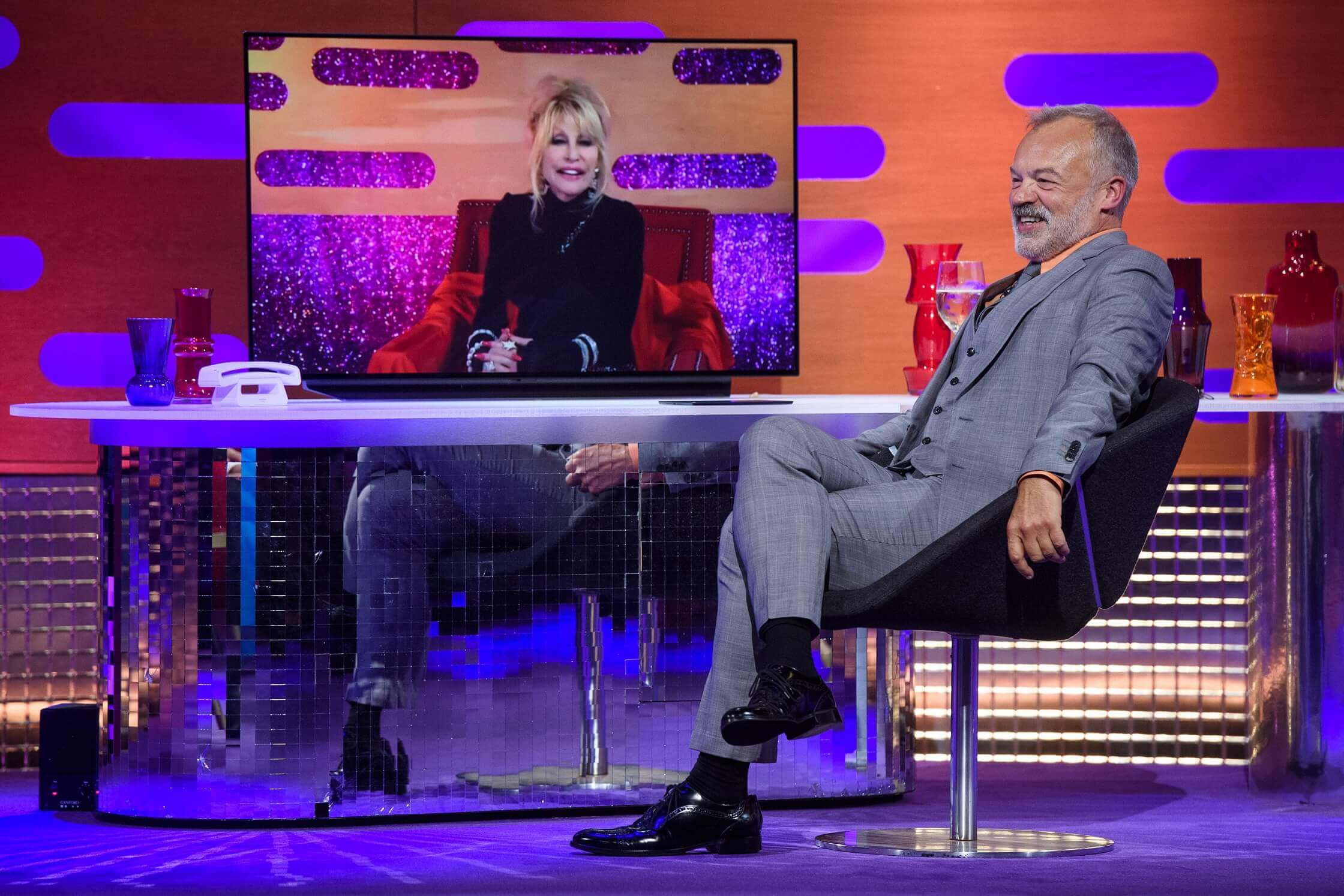 The Graham Norton Show returns With Dolly Parton