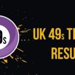 UK Teatime Results