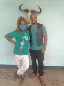 Isibaya Wardrobe HOD with Andile Mxakaza