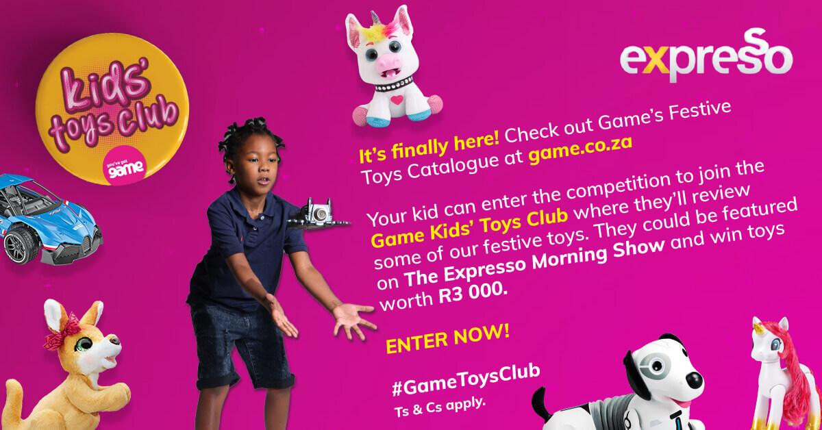 Game presents Kids' Toys Club