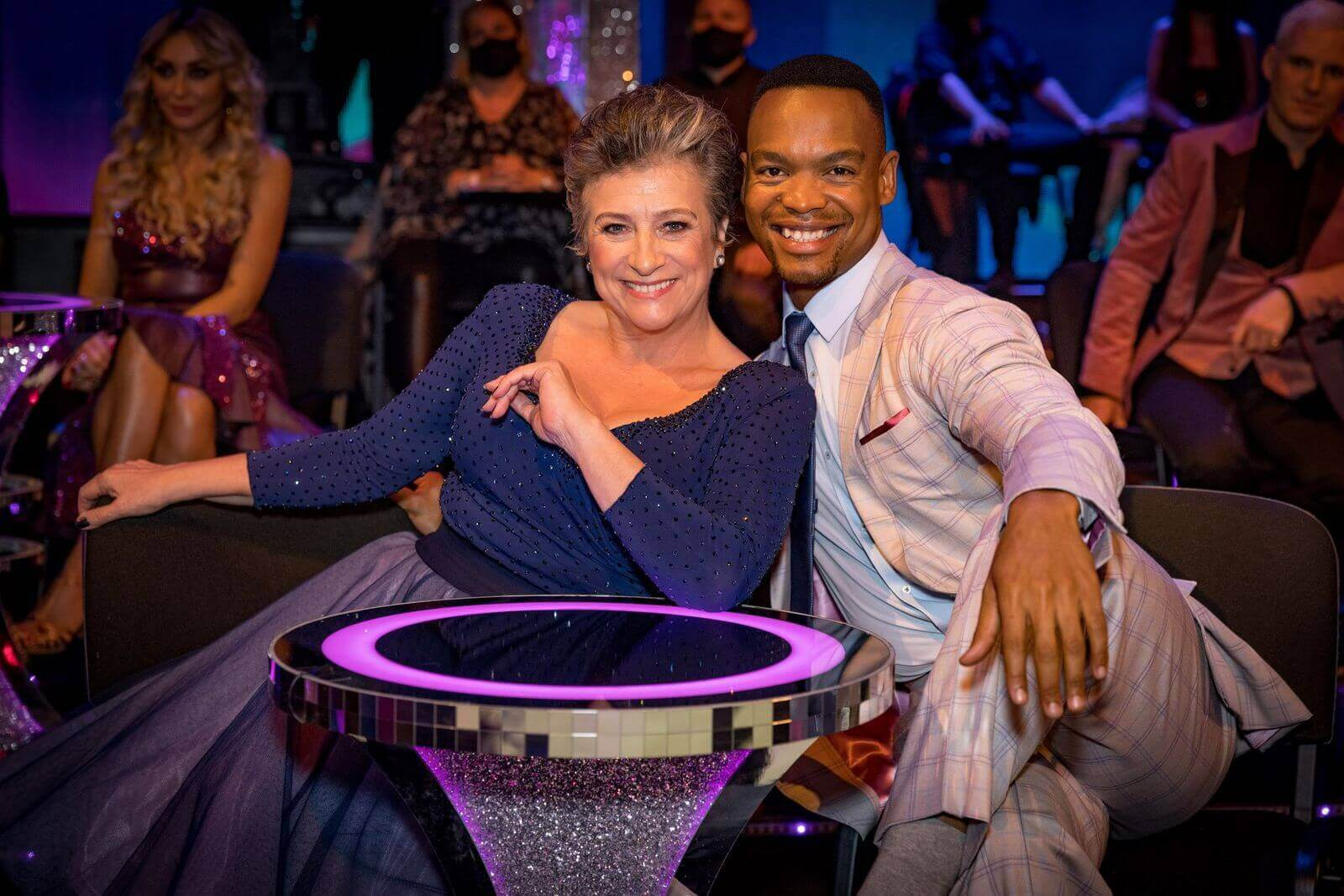 Strictly Come Dancing UK S18 Johannes Radebe and Caroline Quentin