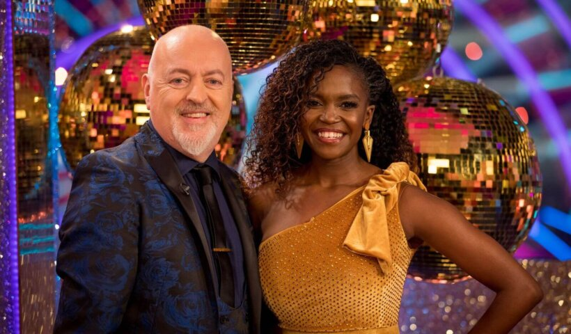 Strictly Come Dancing UK S18 Oti Mabuse and Bill Bailey