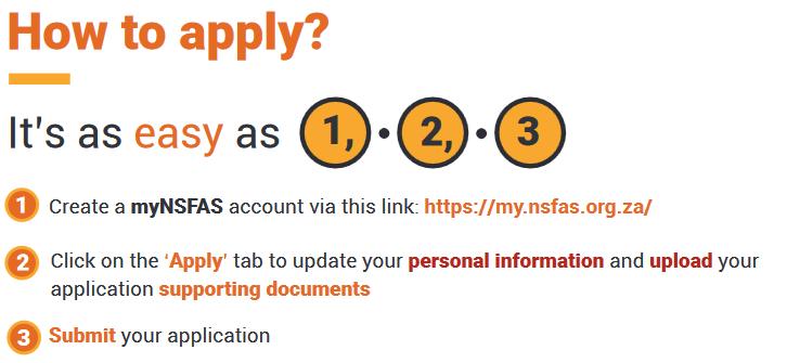 nsfas application