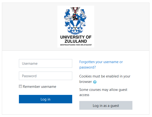 unizulu moodle faculty of education