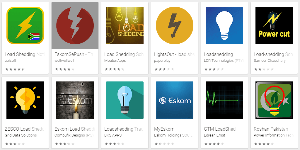 Best Load Shedding Apps in South Africa